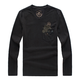 LONSDALE 9670 男士纯棉长袖T恤