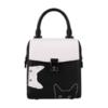 MCAVCCI MA05196681-03 2019春夏黑白系列女士小猫锁扣手提小方包