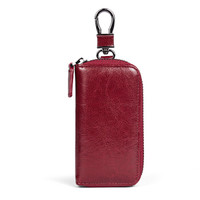 MANTOBRUCE 蒙特布鲁斯 女士 休闲时尚多功能 钥匙包 MW7182001 酒红色