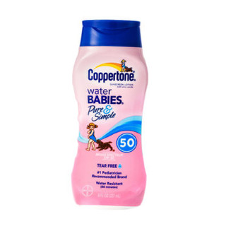 Coppertone 确美同 水宝宝纯净防晒乳SPF30 237ml*2支装