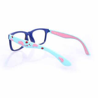 AHT防蓝光防辐射眼镜TPEE食品级材质镜架电竞数码产品护目镜6至12岁儿童眼镜