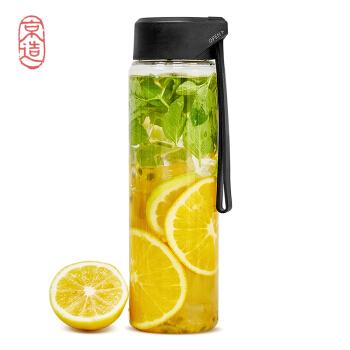 J.ZAO 京东京造 Tritan材质塑料杯 黑色 550ml *4件