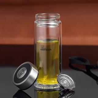 希诺 双层玻璃杯 345ml