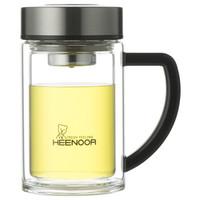 希诺 XN-9321 双层耐热玻璃杯 435ml
