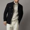 Massimo Dutti 02002203401 男装 修身版口袋装饰羊毛西装外套