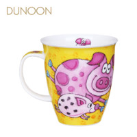 DUNOON丹侬 小粉猪 骨瓷马克杯 (粉色、480ml)