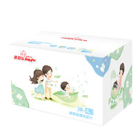 Besuper 贝舒乐 超柔极薄 婴儿 男女通用纸尿片XL108片 (12kg以上)