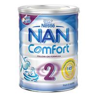 Nestlé 雀巢 NAN舒适能恩 婴幼儿奶粉 2段 800g/罐 *2件