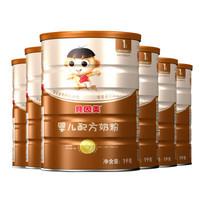 贝因美童享1段配方奶粉1000g*6罐