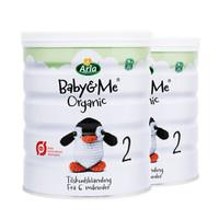Arla 爱氏晨曦 宝贝与我 婴儿配方奶粉2段 600g*2罐 (6-18个月)