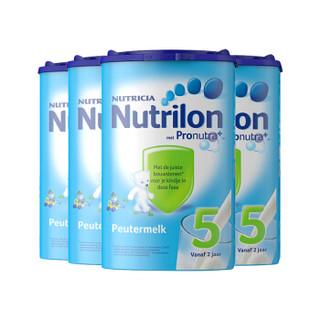 银联专享 : Nutrilon 诺优能 婴儿奶粉 4段 800g 6件装