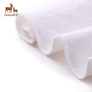 OUYUN 欧孕 婴儿纯棉尿布  18条装(3层生态棉) 新生儿纯棉布 通用 尿片L18条装 (9-14kg)