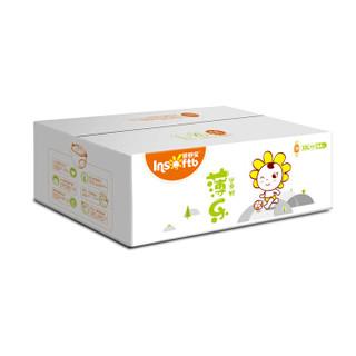 婴舒宝(Insoftb)薄乐 超薄婴儿通用学步尿不湿XXL84片 (15-20kg、)