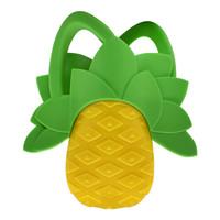 香蕉宝宝(Baby Banana)婴儿牙胶 婴儿玩具磨牙棒 安抚奶嘴咬咬乐 美国进口水果造型硅胶指套牙胶 菠萝