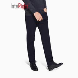 InteRight 斜纹棉氨 男款休闲裤 +凑单品
