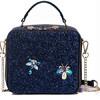 JustStar 欧时纳 女士时尚星空设计手提包单肩包 JS056L 璀灿蓝