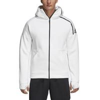 adidas 阿迪达 男款运动夹克 白色 CY9903