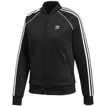adidas 阿迪达斯 女士运动夹克 黑色 CE2392