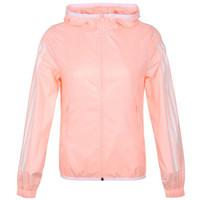 adidas NEO 阿迪达斯 休闲运动 女款运动夹克 粉色  DU2408