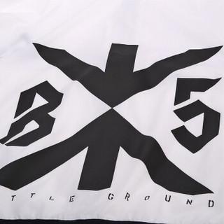 李宁 LI-NING AFDN147-1 篮球系列 男 运动风衣 标准白 M码