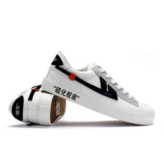 回力/Warrior 回力官方旗舰店回天之力-帆布简版联名限量发售ins超火潮鞋 回天之力3G-帆布版 白黑 38