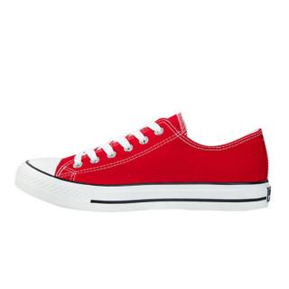 回力/Warrior 回力男女鞋经典款帆布鞋男女休闲情侣款低帮球鞋板鞋回力鞋WXY-391 经典红色 40