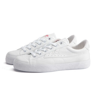回力/Warrior 经典情侣款帆布鞋男女运动鞋男女板鞋复古潮鞋爆款潮鞋明星同款 WB-1K 白白 41