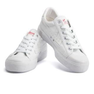 回力/Warrior 经典情侣款帆布鞋男女运动鞋男女板鞋复古潮鞋爆款潮鞋明星同款 WB-1K 白白 40