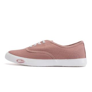 回力/Warrior 回力帆布鞋经典小白鞋女鞋韩版轻便帆布鞋回力官方正品帆布鞋 WXY-A242 粉色 37