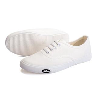 回力/Warrior 回力帆布鞋经典小白鞋女鞋韩版轻便帆布鞋回力官方正品帆布鞋 WXY-A242 白色 35