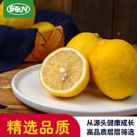 四川安岳 一级鲜柠檬特 5个