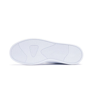 XTEP 特步 983218319266 女士板鞋 白浅绿 36