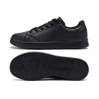 XTEP 特步 983218319266 女士板鞋 黑 37