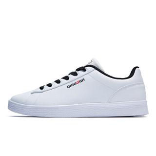 乔丹 男鞋滑板鞋男休闲鞋运动鞋韩版潮休闲板鞋 XM4580316 白色/黑色 44