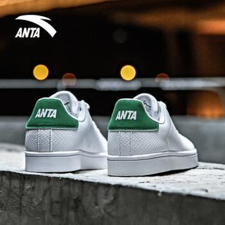 ANTA 安踏 91838001 男士板鞋 (安踏白/板绿、41)