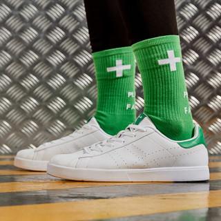 乔丹 男鞋2017年新款休闲板鞋 XM2570507 白色/苔藓绿 40.5