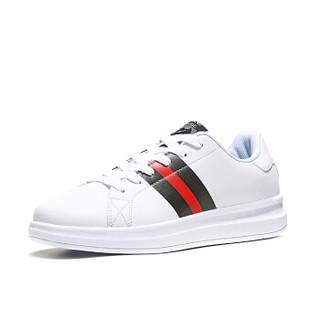 ERKE 鸿星尔克 52118301053 女士板鞋 (正白、36)