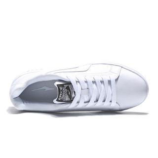 ERKE 鸿星尔克 51118301137 男士休闲鞋 (正白、42)