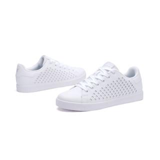 XTEP 特步 982119319017 男士板鞋 (白色、42)
