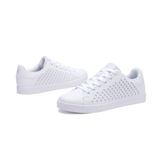 XTEP 特步 982119319017 男士板鞋 (白色、43)