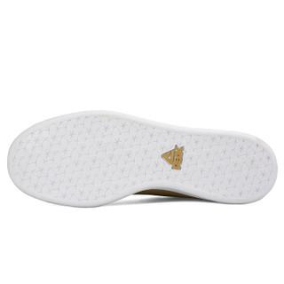 匹克(PEAK)男板鞋潮流时尚休闲运动滑板鞋百搭小白鞋 DB810087 香槟金 42码