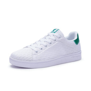 XTEP 特步 982118319985 女士板鞋 (白绿、38)