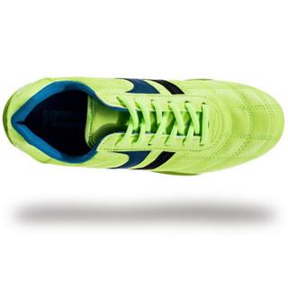 Double Star 双星 9011 儿童碎钉足球训练鞋 (绿色、34)