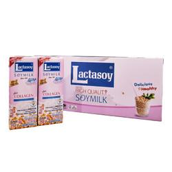 力大狮 泰国进口 Lactasoy 调制豆奶 低糖 250ml*12盒 *2件