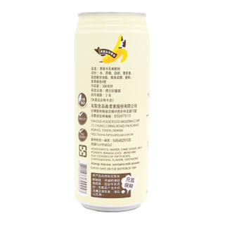 中国台湾进口饮料 名屋香蕉牛奶饮料礼盒500ml*6量贩聚会分享装