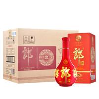 郎酒 红花郎(10)53度 558ml*6 整箱装 酱香型白酒