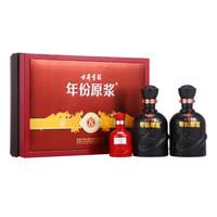 古井贡酒 年份原浆 白酒 (礼盒装、浓香型、40-49度、 425ml *2瓶)