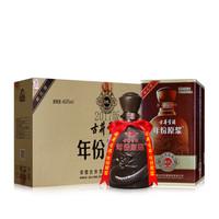 古井贡酒 年份原浆 白酒 (箱装、浓香型、40.6度、425ml*4瓶 )