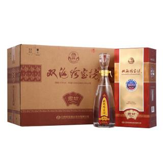 双沟 君坊 白酒 (箱装、浓香型、41.8度、500ml*6瓶)