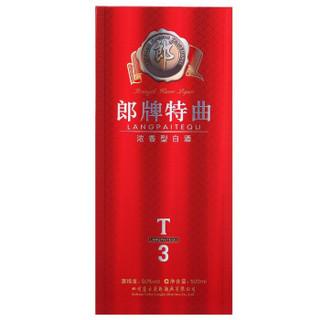 LANGJIU 郎酒 郎牌特曲 白酒 (箱装、浓香型、50°、500mlX6瓶)